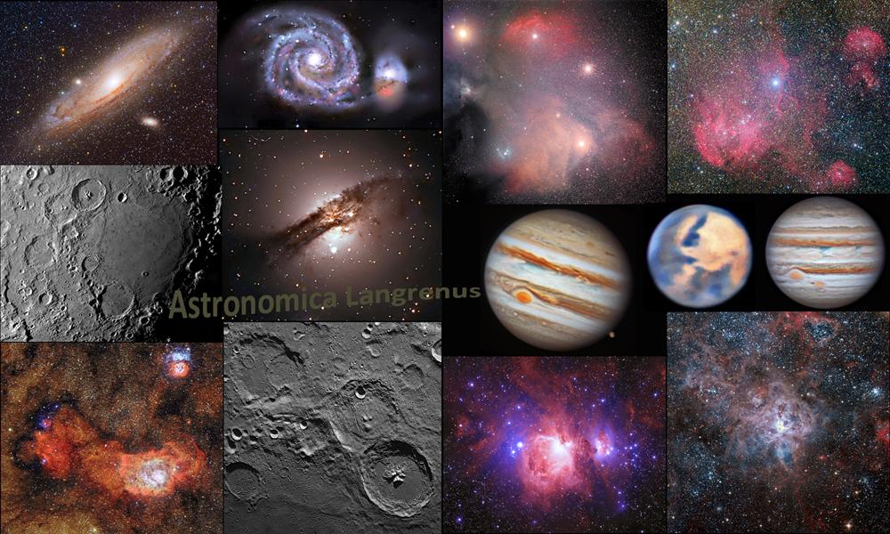 Sito Astronomica Langrenus